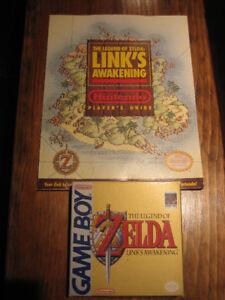 CIB NES Game Boy Legend of Zelda Link's Awakening & Strat Guide