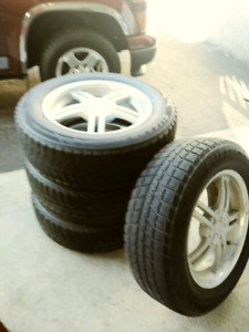 "17"" Winter tires and alloy rims for sale"