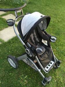 graco 2 way facing stroller with car seat adapter