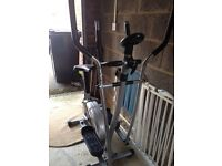 Cross trainer/cycle