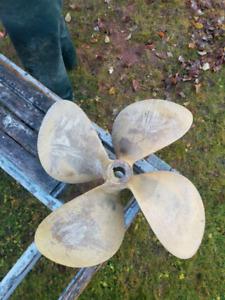 26-24 lobster boat propeller