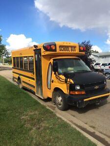 School Bus 2008 Chevy Express