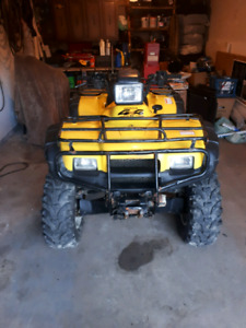 Looking for 2001 to 2004 Honda Rubicon 500 parts