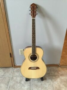 Oscar Schmidt by Washburn Acoustic Guitar. Model OF2