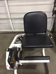 Keiser Compressed Air Strength Station – Seated Leg Extension!