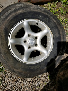 17 inch Dodge Ram Offroad Edition rims