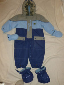 Baby Bell Snowsuit-size 24 M-only $10
