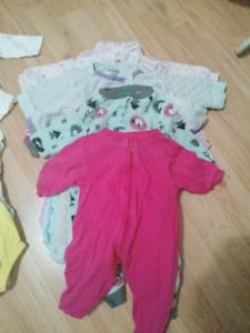 Lots vêtements fille 3-6mois