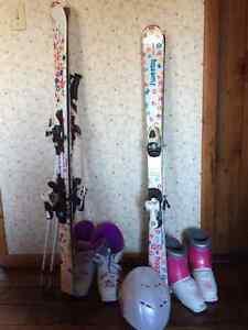 Girls Ski Equipment