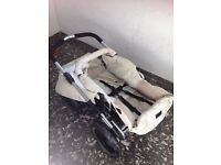 Emmaljunga pram and carrycot