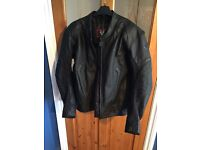 Frank Thomas Leather Motorbike Jacket
