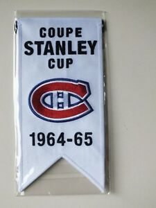 CENTENNIAL STANLEY CUP 1964-65 BANNER MONTREAL CANADIENS HABS Gatineau Ottawa / Gatineau Area image 1