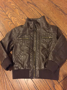 H&M Brown Leather Jacket