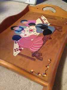 Mennonite Painted Wooden Tray from St. Jacobs Ontario Kitchener / Waterloo Kitchener Area image 6