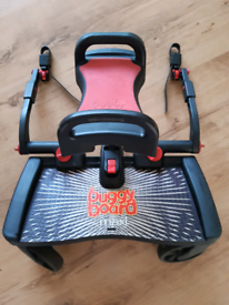Lascal maxi buggy board, extenders, uncut clips and seat/saddle bundle