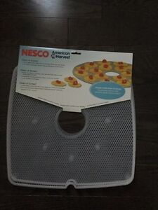 Nesco SQM-2-6 Cl Screen flexes for easy removal of sticky fruits