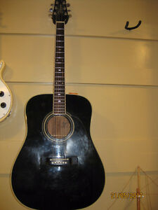 Takamine Flat-top, electric Guitar