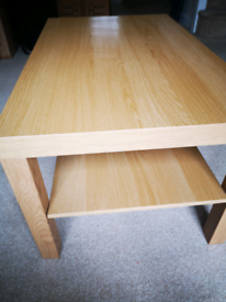 Oak veneer Coffe table