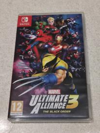 Marvel Ultimate Alliance 3 Switch (Like New)