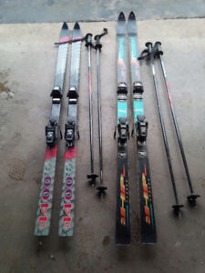 Rossignol, k2 and  Fischer  Downhill