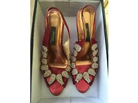 Women's heel shoe