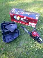 **LOOK** Craftsman 18 inch chain saw as new, used but in box.