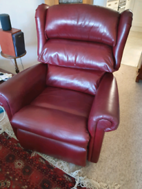 Dual motor recliner, massage, riser chair