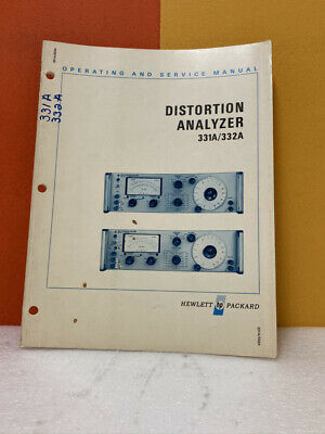 mediatime.sn Used Details about HP 331A/332A Distortion Analyzer ...