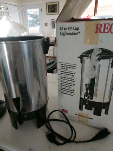 Regal 10 to 30 cup Coffemaker Urn Style