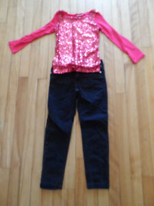 *** Vetements Fille/Girl De Marques/Brand Names SZ 4-5 ***