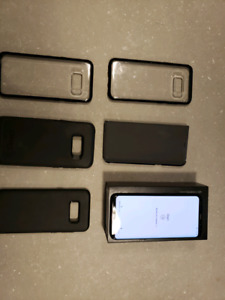 Samsung S8 Plus with everything plus 5 cases 575 obo