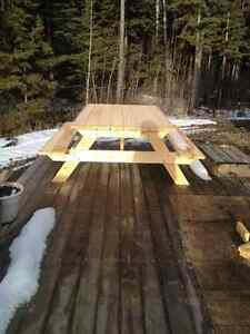Picnic Tables for sale - Contractor Built in Rimbey/ Gull Lake