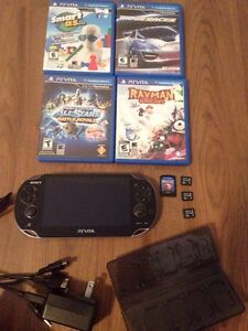 PS VITA FOR SALE WITH LOTS OF ACCESSORIES!!!
