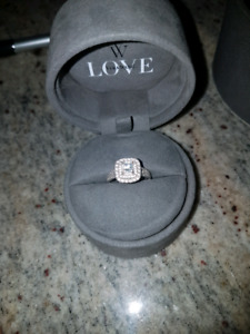 1.45 CT Vera Wang engagement ring