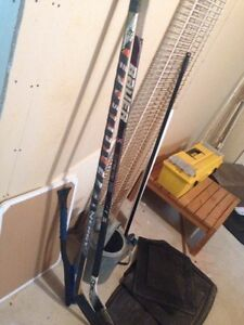 Easton & supreme one 95(with rbk blade)
