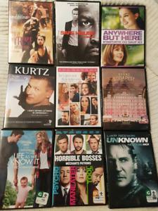 DVD Blu-Ray populaires à vendre $2 / $8