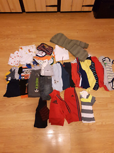 Baby boy clothes lot sizes 3 months 3-6 months and 6 months