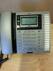 RCA 4-LINE BUSINESS SYSTEM PHONE WITH CALLER ID