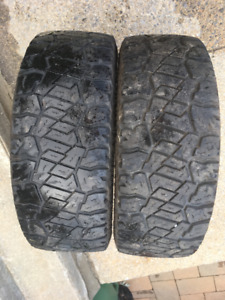 2 PNEUS /2 TIRES  LT 265/70/17 FUN COUNTRY DICK CEPEK