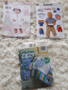 Various sewing patterns only $1 each!!