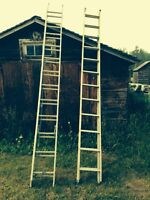 12' extendable ladders