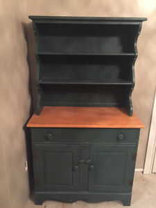 Antique Cabinet and Hutch