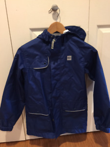 MEC Kid's Rain Jacket, Blue, Age 10