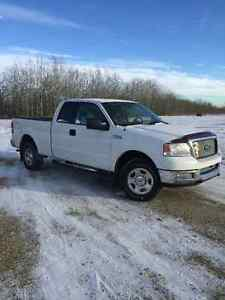 2004 FORD F150 XLT SUPERCAB/SHORT BOX ONLY 149000KM
