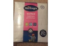 New Silentnight Quilted Mattress Protector