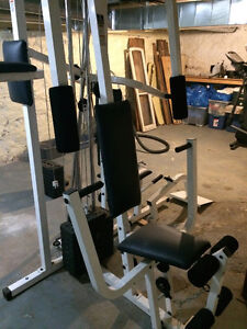 Weider pro exercise machine