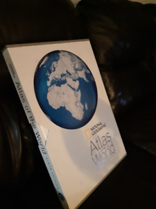 Large detailed National Geographic Atlas!