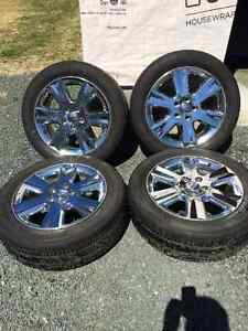 Dodge Chrome Rims and Tires For Sale