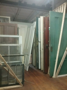 Doors, Windows, antiques and more