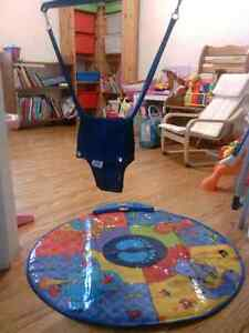 Original Jolly Jumper and Interactive Music Mat
